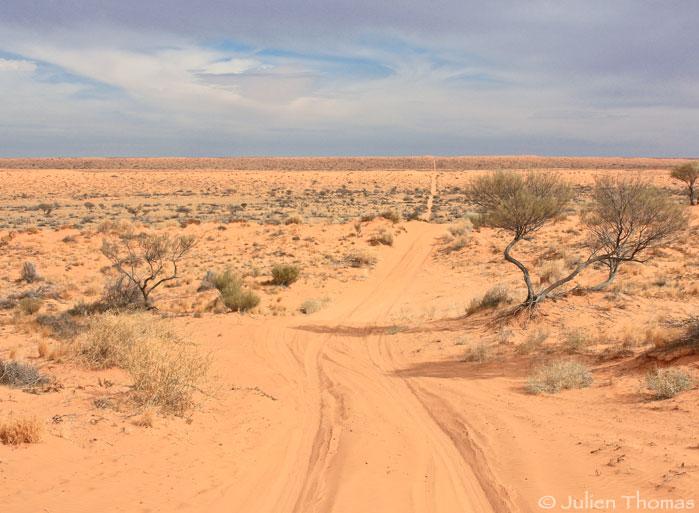 Simpson desert Austarlie - French Line