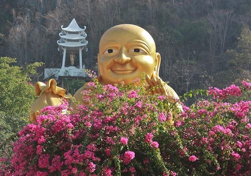 Happy Buddha, thaïlande