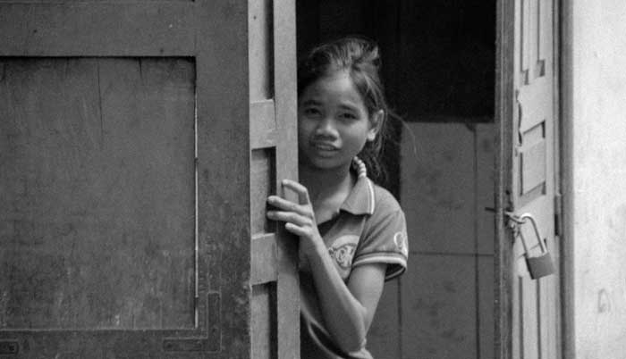 Les enfants d'Asie ont peur