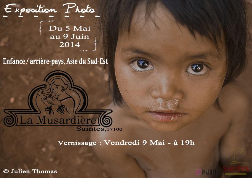 Exposition photo – Thème de «l'Enfance» à la Musardière