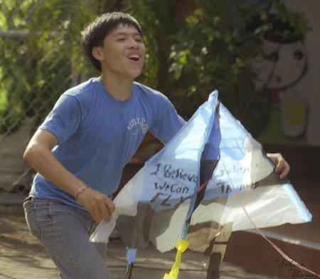 projet éco-ludique, cerfs-volants, julien thomas, saint vincent de paul, déchets plastiques, vietnam
