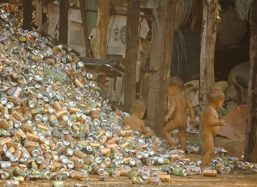 enfants asie aluminium