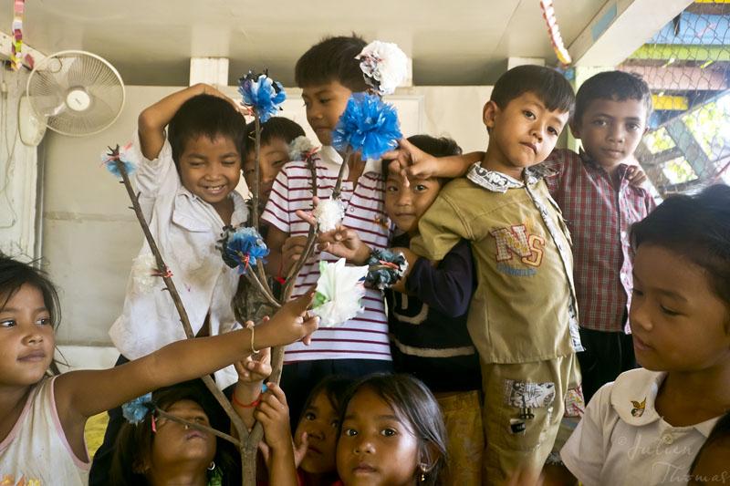 Le dernier événement, avec l'ONG Pour un Sourire d'Enfant