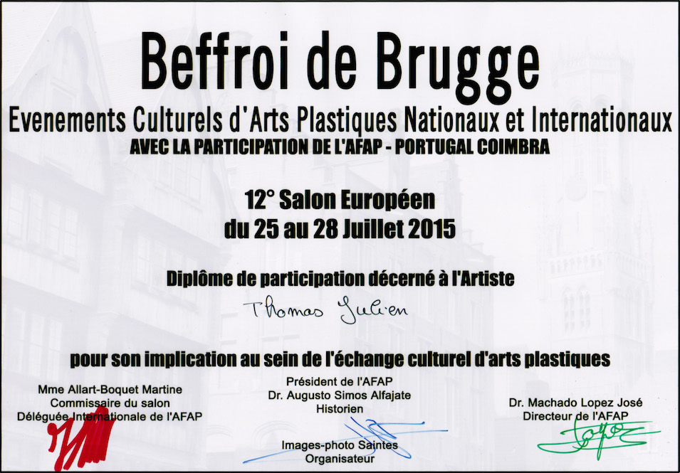 Participation à l'International !